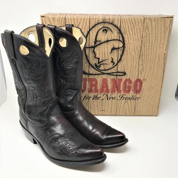Durango Other - Durango Black Cherry Dragon  Cowboy Boots 10
